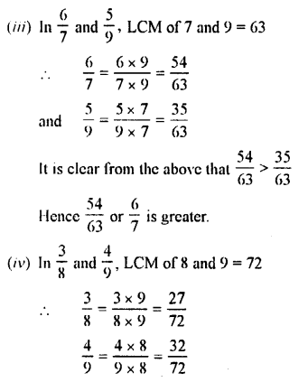 Selina Concise Maths class 7 ICSE Solutions - Fractions (Including Problems)-B6.....