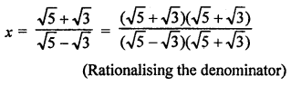 RD Sharma Class 9 Book Chapter 3 Rationalisation