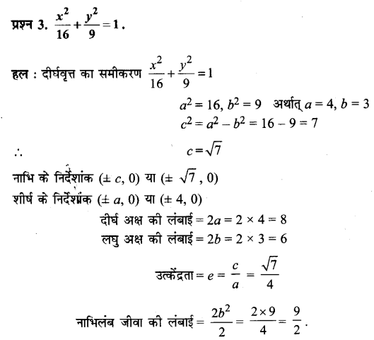 UP Board Solutions for Class 11 Maths Chapter 11 Conic Sections 11.3 3