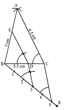 RD Sharma Class 10 Solutions Chapter 9 Constructions Ex 9.2 -13