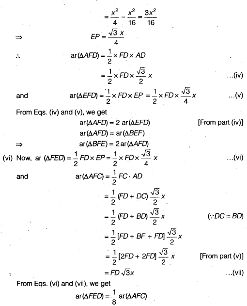NCERT Solutions for Class 9 Maths Chapter 10 Areas of Parallelograms and Triangles 10.4 5d