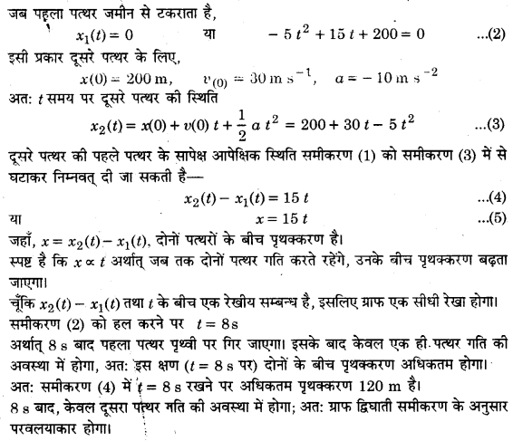 UP Board Solutions for Class 11 Physics Chapter 3 Motion in a Straight Line 26a