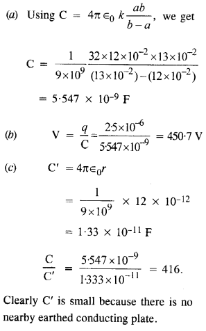 NCERT Solutions for Class 12 physics Chapter 2.46