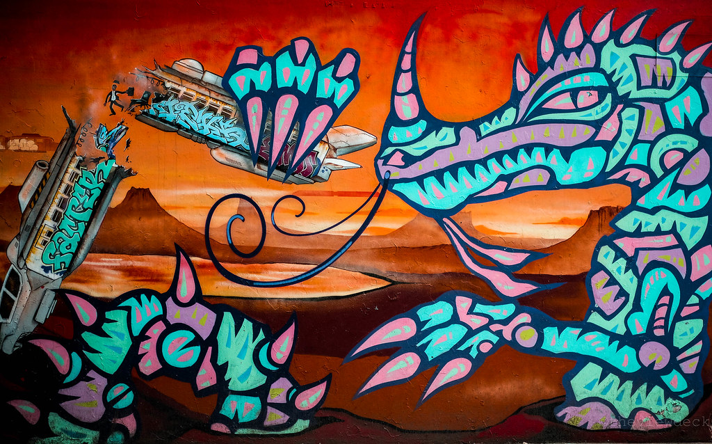 Street Art in Ximending