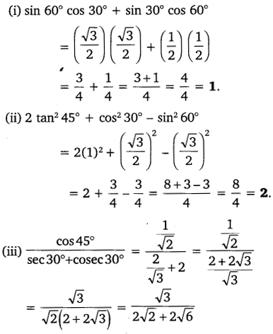 NCERT Solutions for Class 10 Maths Chapter 8 Introduction to Trigonometry 18