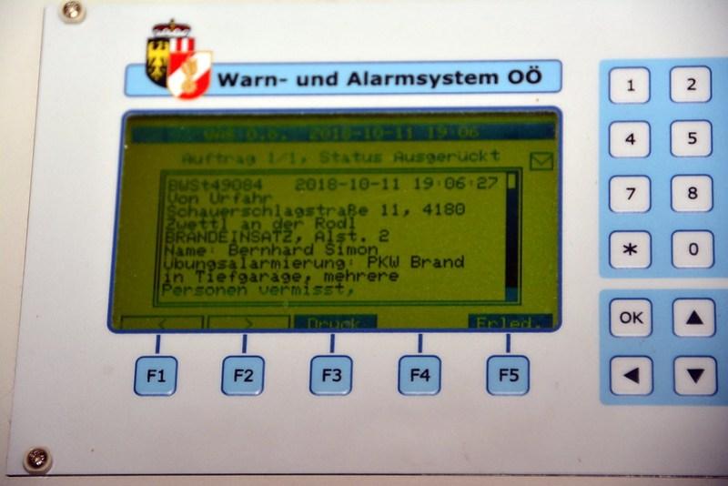 Herbstübung Plichtbereich Zwettl/ Rodl