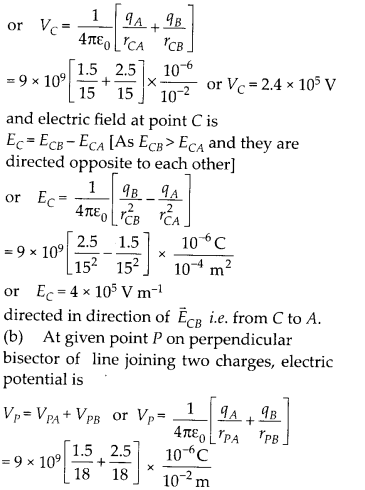 NCERT Solutions for Class 12 Physics Chapter 2 Electrostatic Potential and Capacitance 01