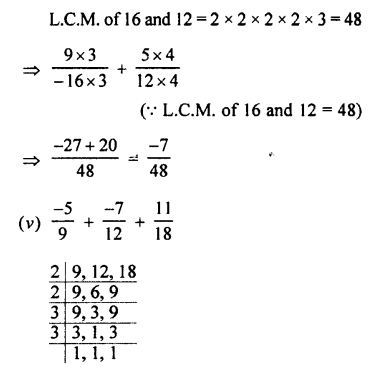 Selina Concise Mathematics class 7 ICSE Solutions - Rational Numbers-e1.......