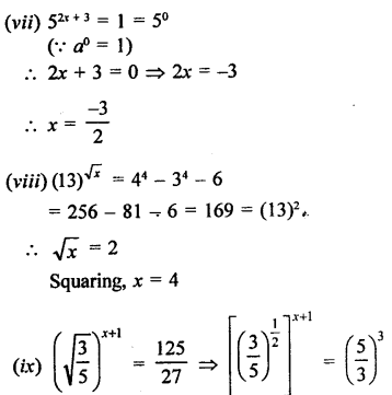 RD Sharma Class 9 Solutions Chapter 2 Exponents of Real Numbers Ex 2.2 - 10aaa.