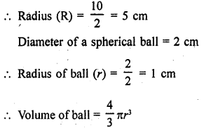RD Sharma Class 9 Maths Book Questions Chapter 21 Surface Areas and Volume of a Sphere