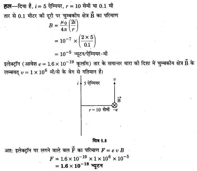 UP Board Solutions for Class 12 Physics Chapter 5 Magnetism and Matter SAQ 4