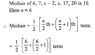 RD Sharma Class 10 Solutions Chapter 15 Statistics MCQS 16