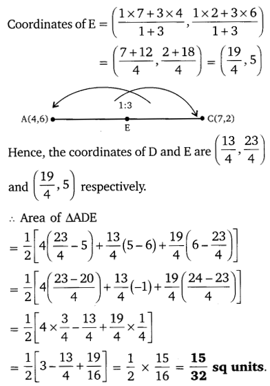 NCERT Solutions for Class 10 Maths Chapter 7 Coordinate Geometry 52