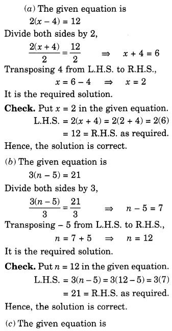NCERT Solutions for Class 7 Maths Chapter 4 Simple Equations 33