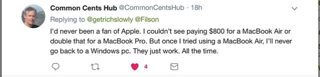 Apple makes good products