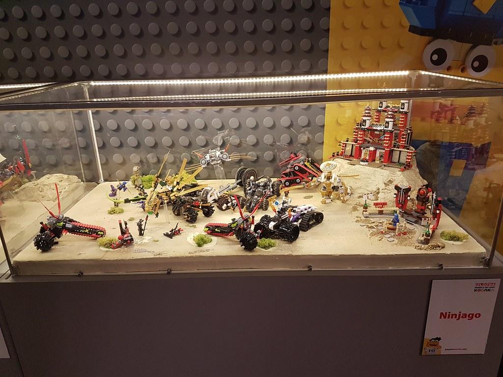 Ninjago Display @ 'Invasion of Giants' Exhibition