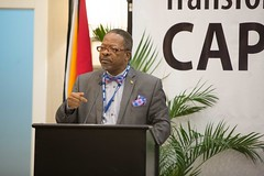 Vice-Chancellor and Principal at the University of Guyana (UG), Professor Ivelaw Griffith.
