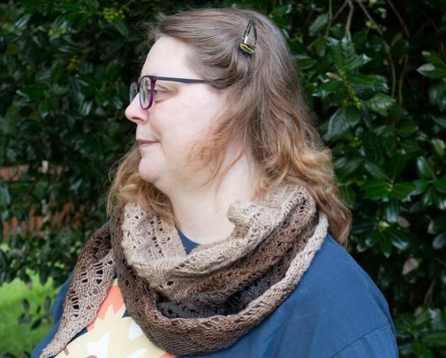 Cupcake shawl 1