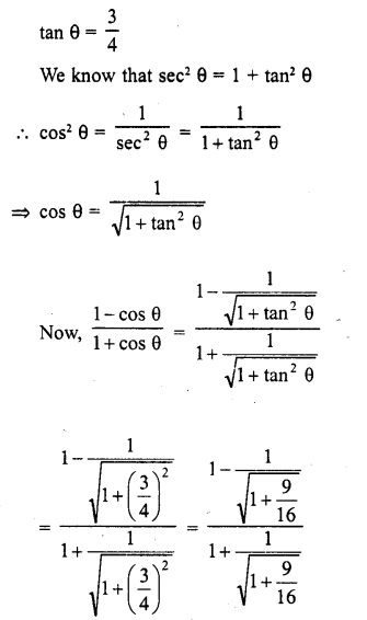 RD Sharma Class 10 Solutions Chapter 11 Trigonometric Identities Ex 11.2 - 4