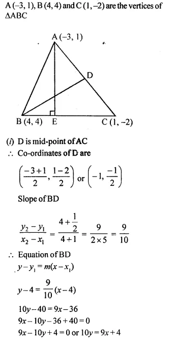 Selina Concise Mathematics Class 10 ICSE Solutions Chapterwise Revision Exercise 66