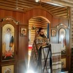 2018 09 30 Sunday. Liturgy. Kazan Church in Kyiv