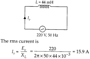 NCERT Solutions for Class 12 Physics Chapter 7 Alternating Current 5