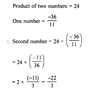 Selina Concise Mathematics class 7 ICSE Solutions - Rational Numbers-e9