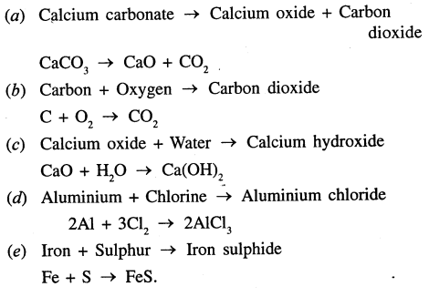Selina Concise Chemistry Class 7 ICSE Solutions - Language of Chemistry-8