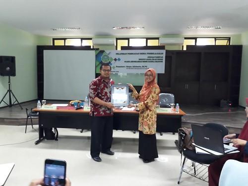 Pelatihan Perancangan dan pembuatan media pembelajaran di IAIN Syaikh Abdurrahman Siddik Bangka Belitung. 1 November 2018. #2