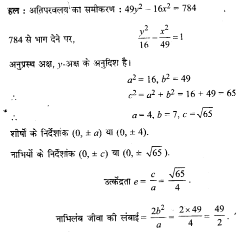 UP Board Solutions for Class 11 Maths Chapter 11 Conic Sections 11.4 6