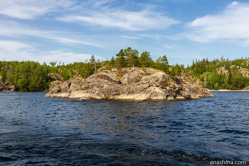 Скалистый островок, Ладожское озеро
