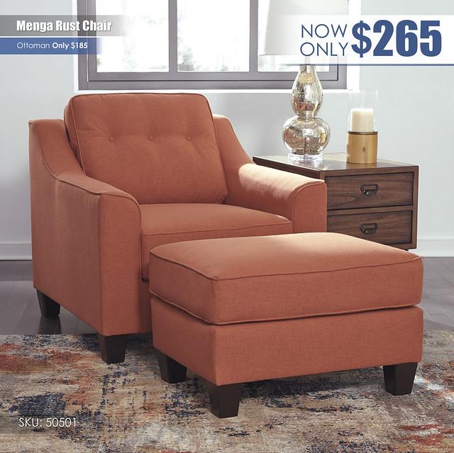 Menga Rust Chair_50501-20-14