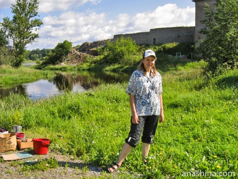 Я в Староладожской археологической экспедиции