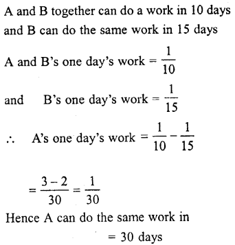 Selina Concise Mathematics class 7 ICSE Solutions - Unitary Method (Including Time and Work)-c2