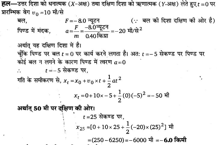 UP Board Solutions for Class 11 Physics Chapter 5 Laws of motion 9