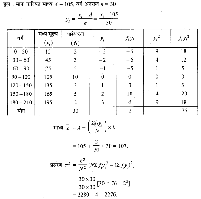 UP Board Solutions for Class 11 Maths Chapter 15 Statistics 15.2 7.1