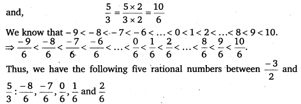 NCERT Solutions for Class 8 Maths Chapter 1 Rational Numbers 20