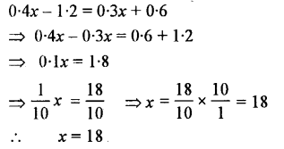 Selina Concise Mathematics class 7 ICSE Solutions - Simple Linear Equations (Including Word Problems) -b12