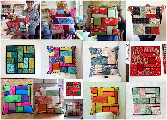 Twin Needling (Mosaic cushion) class