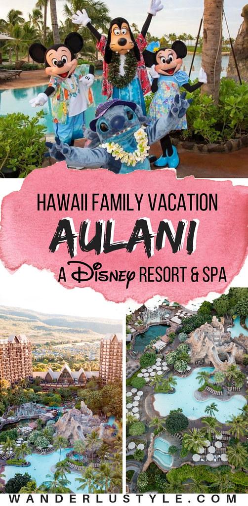 Aulani, A Disney Resort & Spa in Hawaii - Best Hawaii Family Vacation, Hawaii Family Vacation, Things To Do DIsney Aulani | Wanderlustyle.com