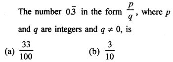 Class 9 Maths Chapter 1 Number System RD Sharma Solutions