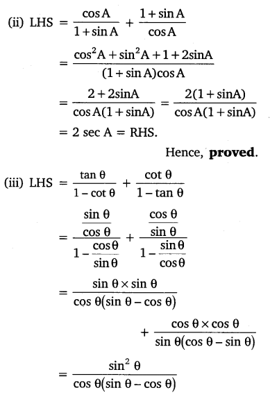 NCERT Solutions for Class 10 Maths Chapter 8 Introduction to Trigonometry 44