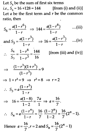 NCERT Solutions for Class 11 Maths Chapter 9 Sequences and Series 52