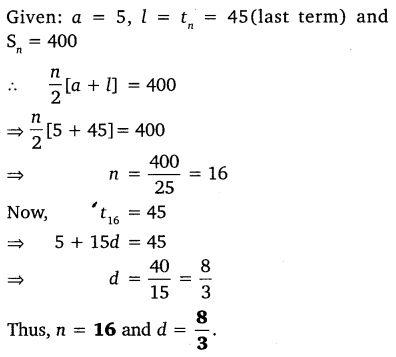 NCERT Solutions for Class 10 Maths Chapter 5 Arithmetic Progressions 62