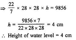 Surface Areas and Volume of a Circular Cylinder With Solutions PDF RD Sharma Class 9 Solutions