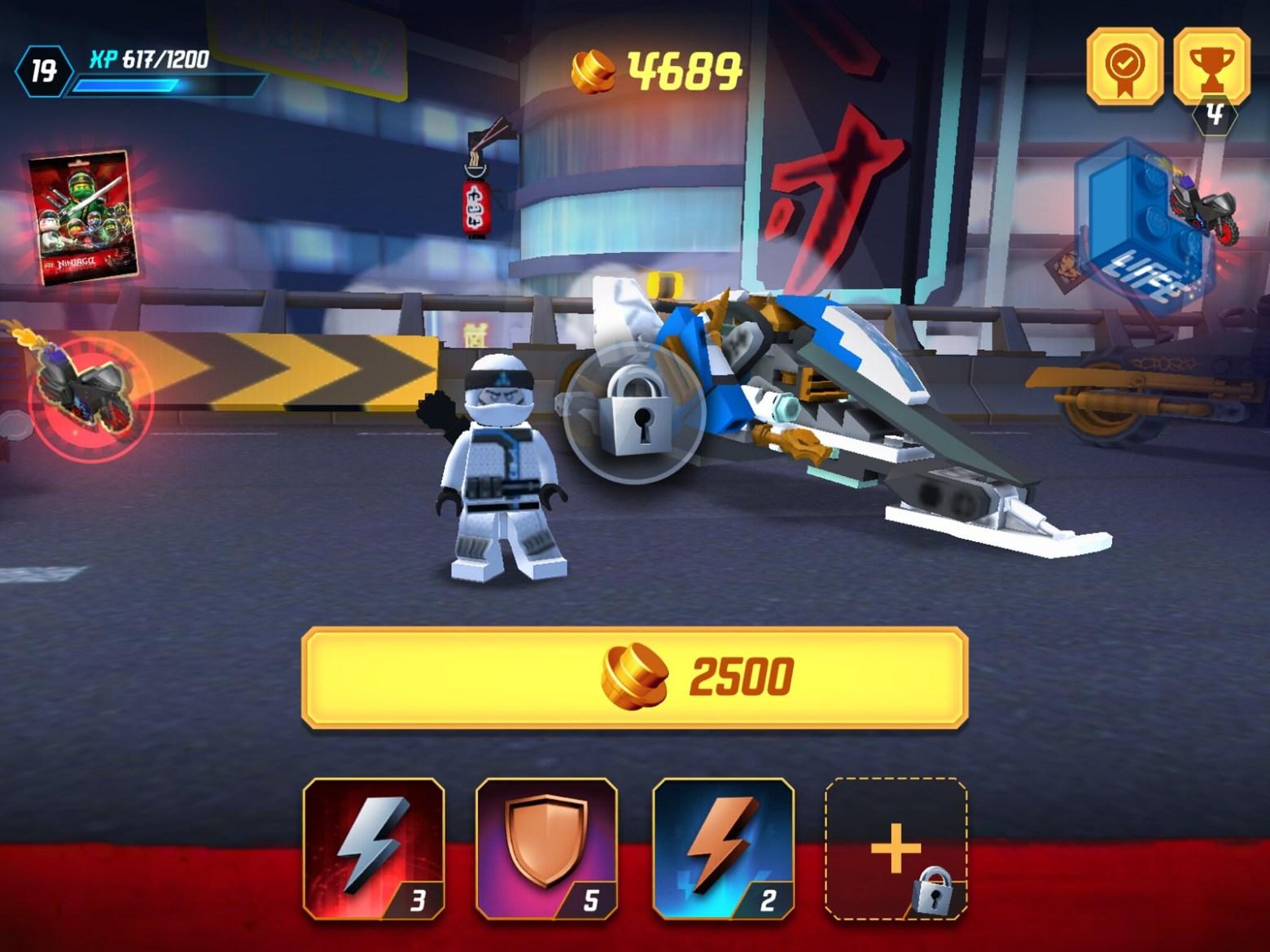 New version of Zane's Snowmobile