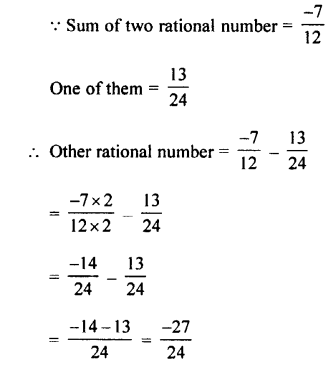 Selina Concise Mathematics class 7 ICSE Solutions - Rational Numbers-c8