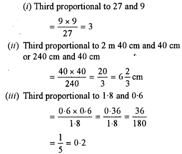 Selina Concise Mathematics class 7 ICSE Solutions - Ratio and Proportion (Including Sharing in a Ratio) -b3..