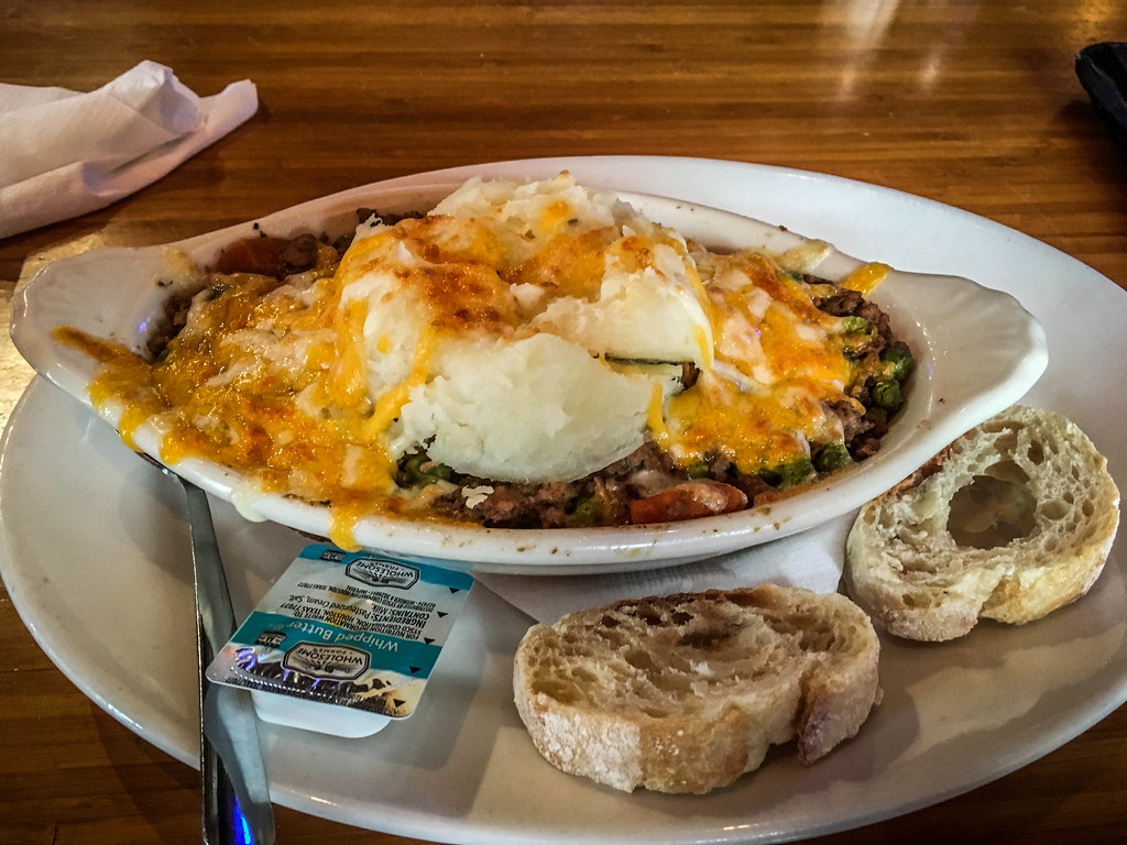 Shepherd's Pie at Dugan's Pub