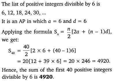 NCERT Solutions for Class 10 Maths Chapter 5 Arithmetic Progressions 71